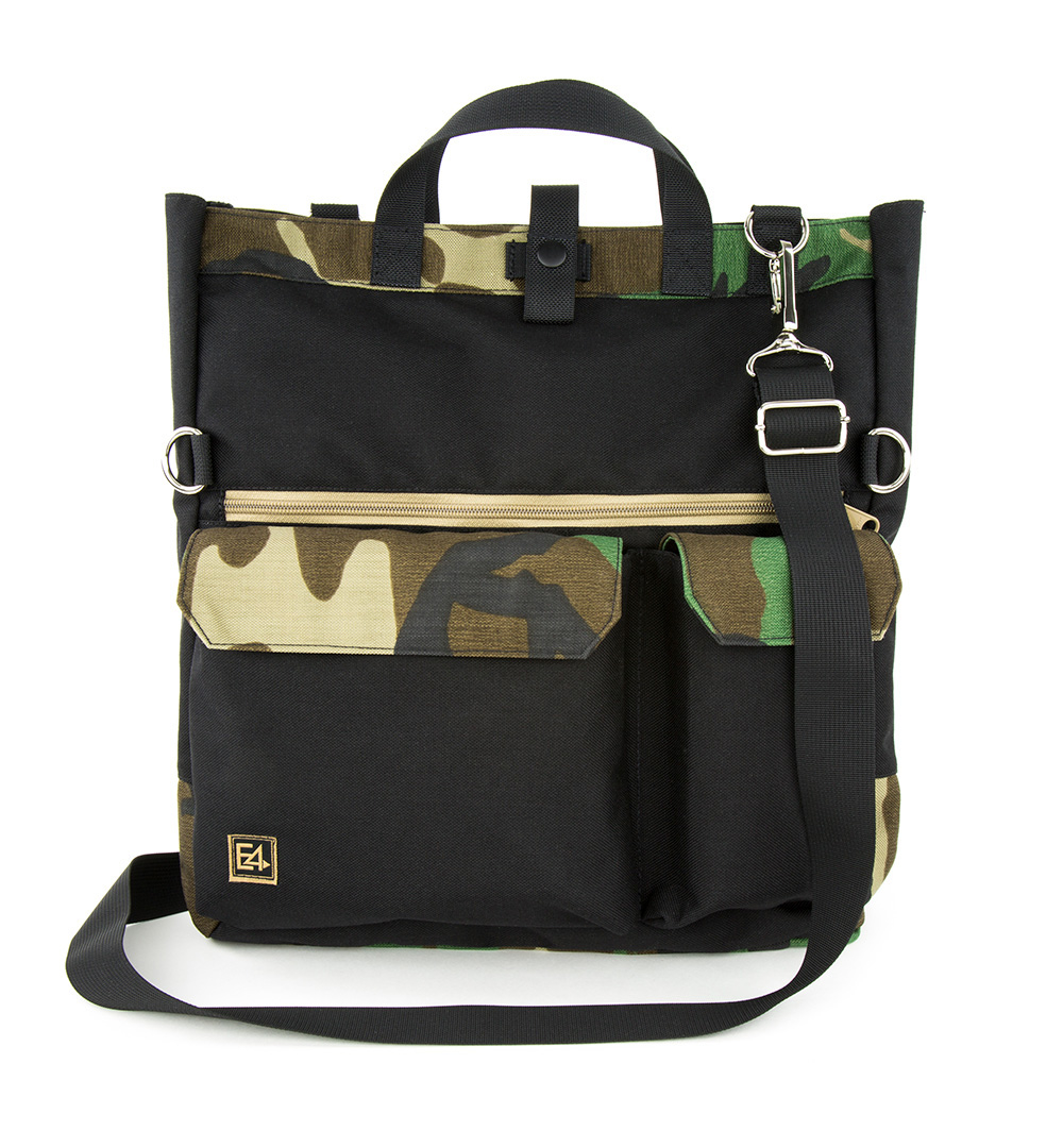 E4 By EmdomUSA Bevis Tote Bag